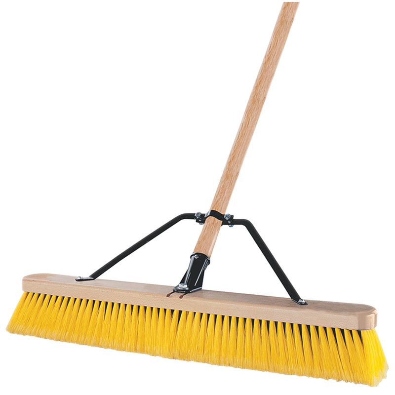 "24"" Quickie Indoor/Outdoor Pushbroom - Gebo's"