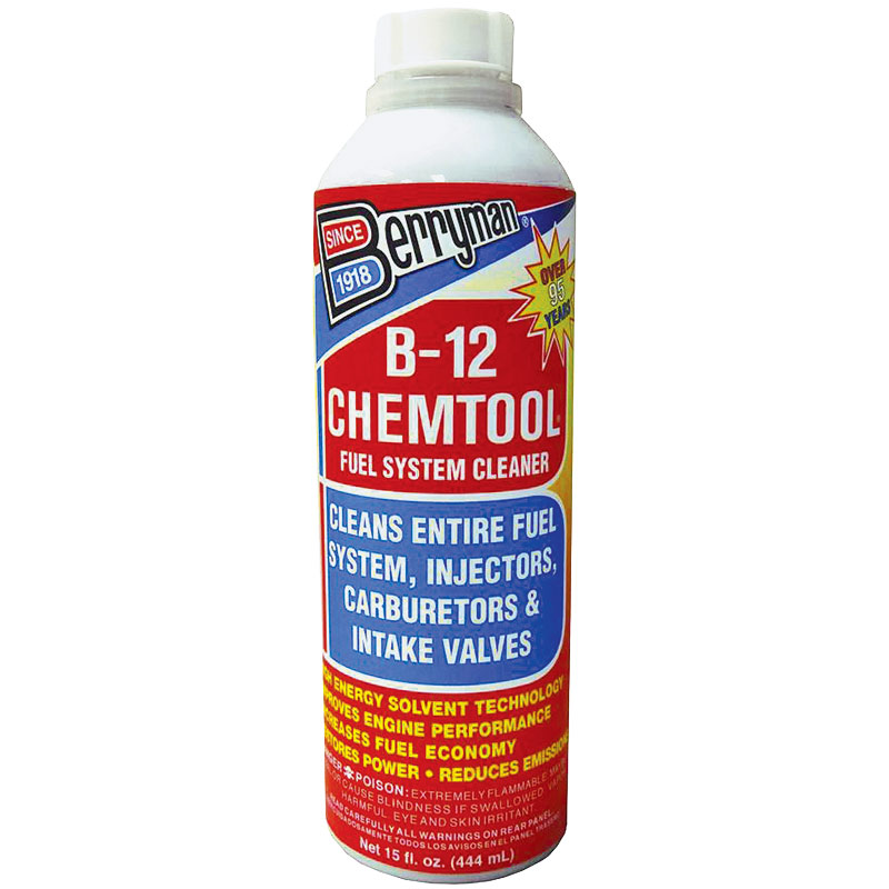 15 Oz. B-12 Chemtool Fuel System Cleaner - Gebo's