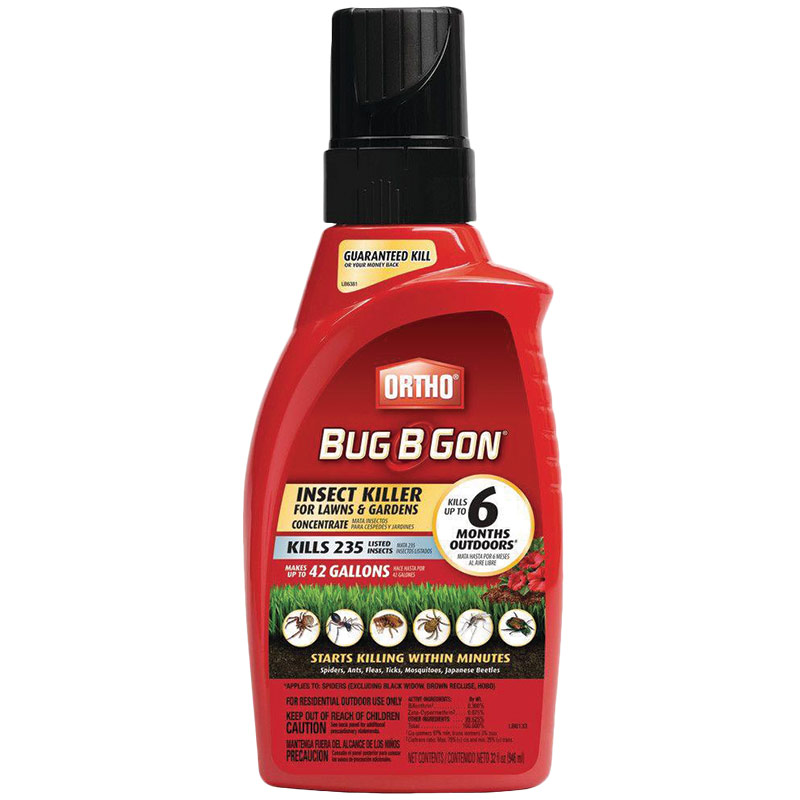 1 Qt. Scotts Ortho Bug B Gon Insect Killer - Gebo's