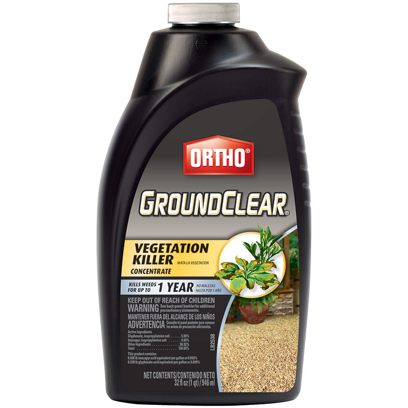 1 Qt. Ortho GroundClear Vegetation Killer - Gebo's