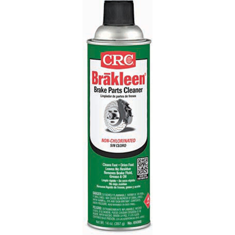 14 Oz. CRC Brakleen Non Chlorinated Cleaner - Gebo's