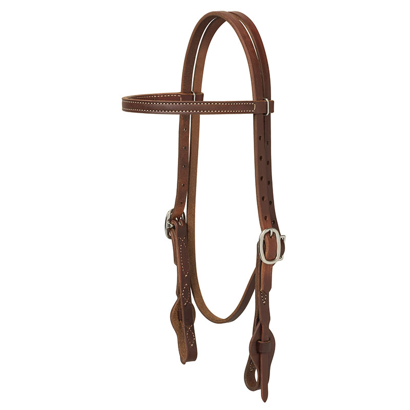 Weaver Leather Working Tack Quick Change Browband Headstall - Gebo's