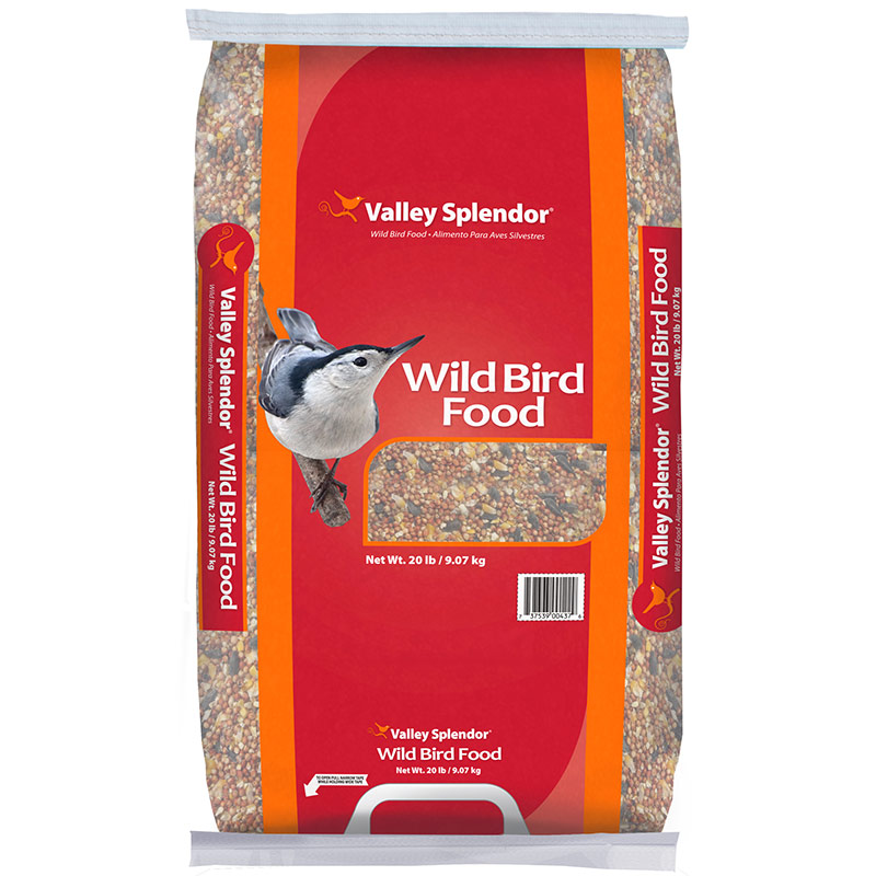 20 Lb. Valley Splendor Wild Bird Food - Gebo's