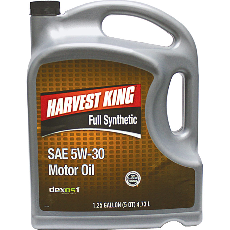 5 Qt. Harvest King Full Synthetic SAE 5W-30 Motor Oil - Gebo's