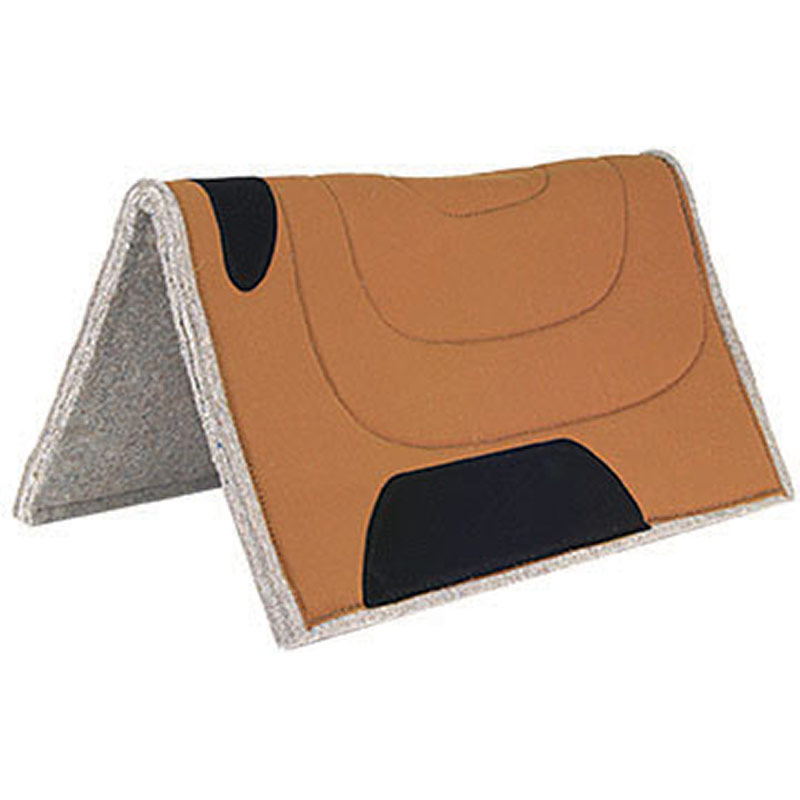"30""x30"" Mustang Manufacturing Canvas Top Cut Back Work Pad - Brown - Gebo's"