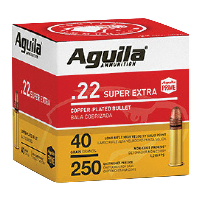 Aguila® 250 Rounds 22 LR 40 Gr. Box - Gebo's