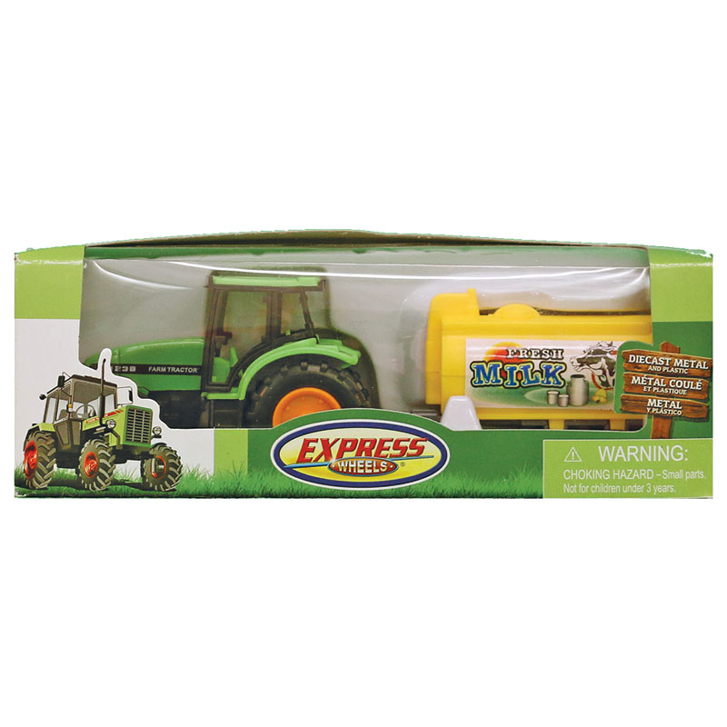 Express Wheels Farm Tractor With Trailer - Gebo's