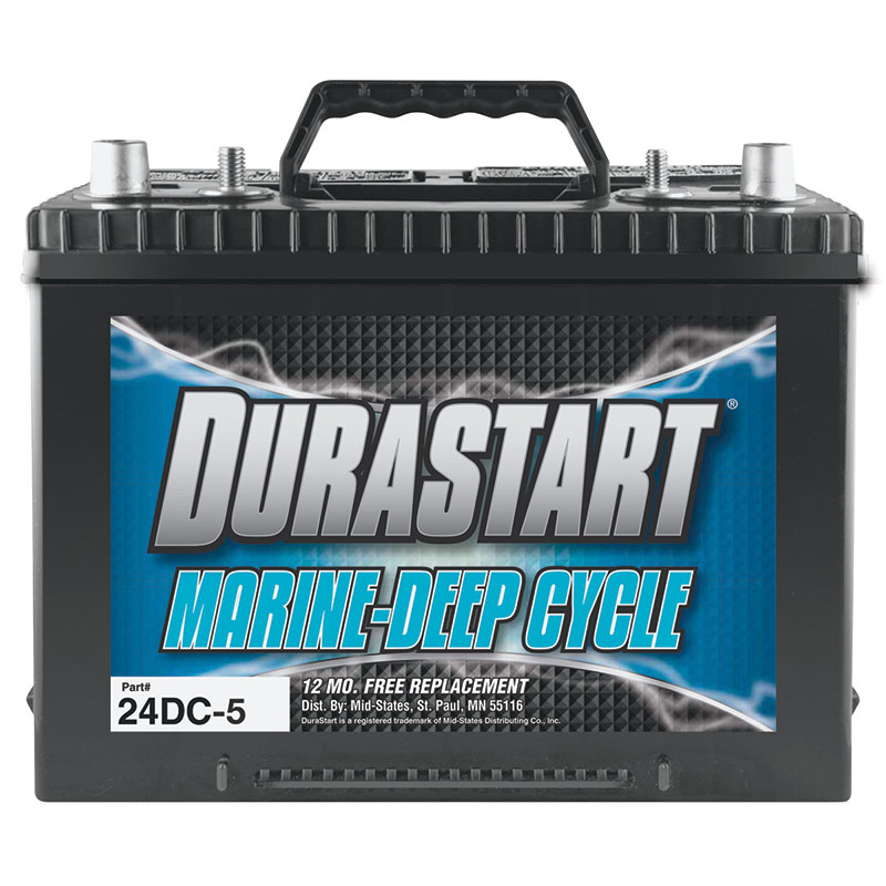 DuraStart Marine-Deep Cycle Battery - Gebo's