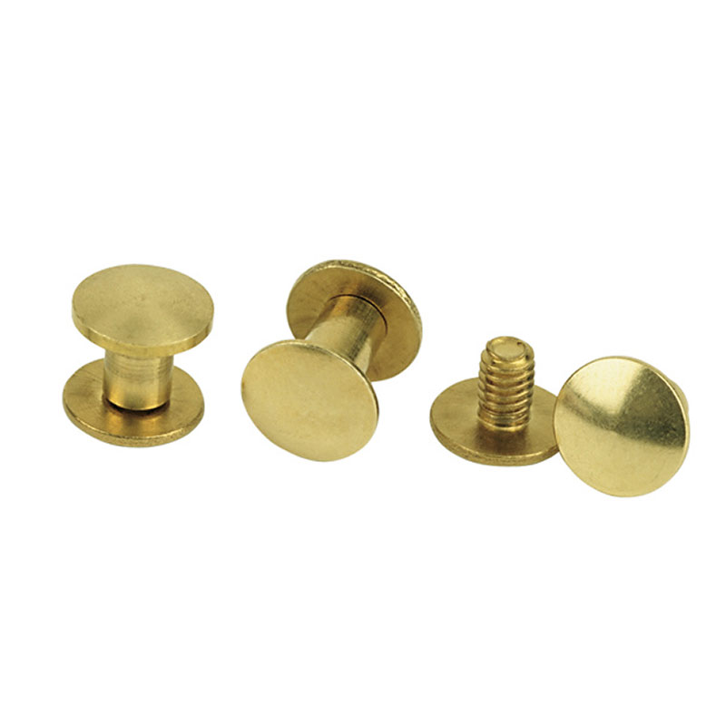 Chicago Screw Handy Pack, Plain Solid Brass - Gebo's