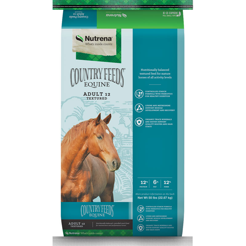 Select 50 Lb. Horse Feed from Country Companion® & Nutrena® Country Feeds - Gebo's