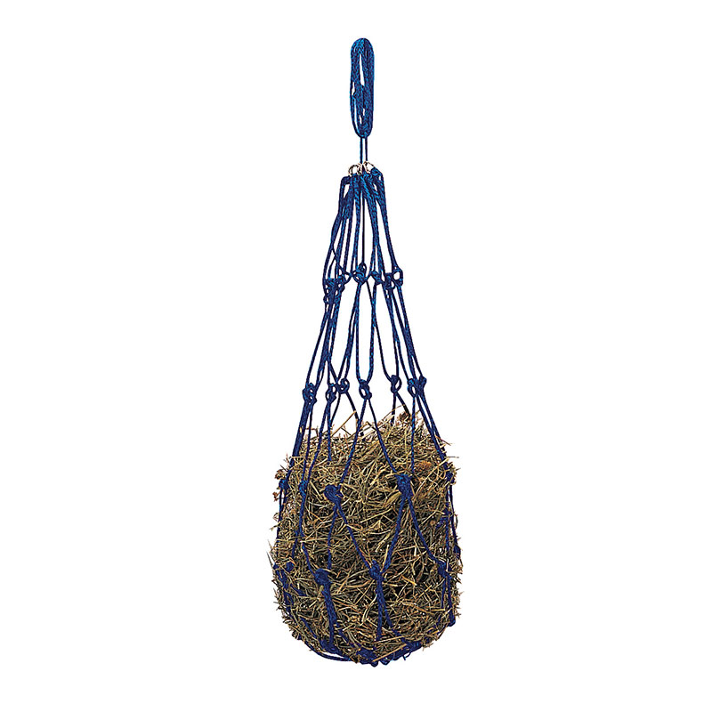 "36"" Weaver Leather Small Rope Hay Bag - Blue - Gebo's"