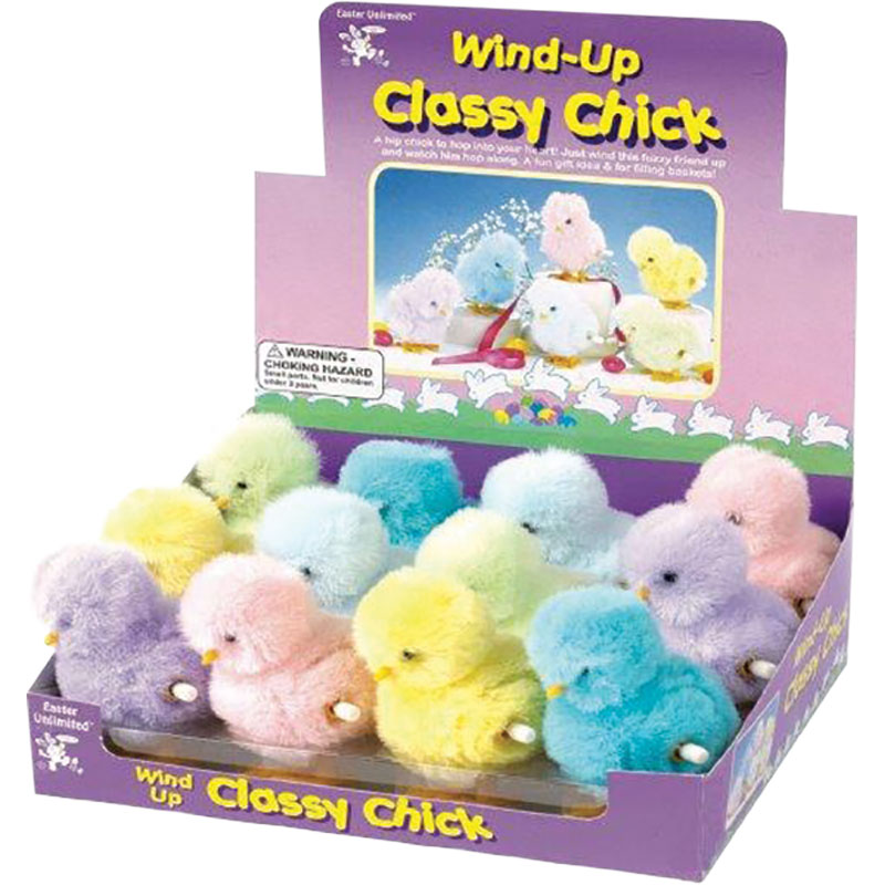 TOY WIND UP CHICKS ASST COLORS - Gebo's