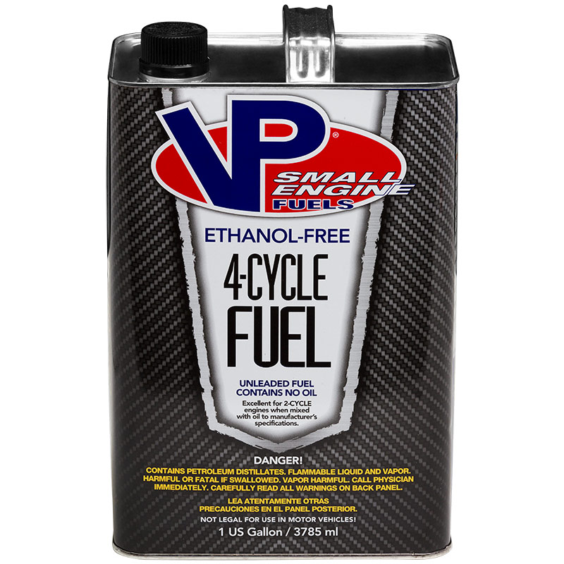 1 Gal. VP Small Engine Fuels Ethanol-Free 4-Cycle Fuel - Gebo's