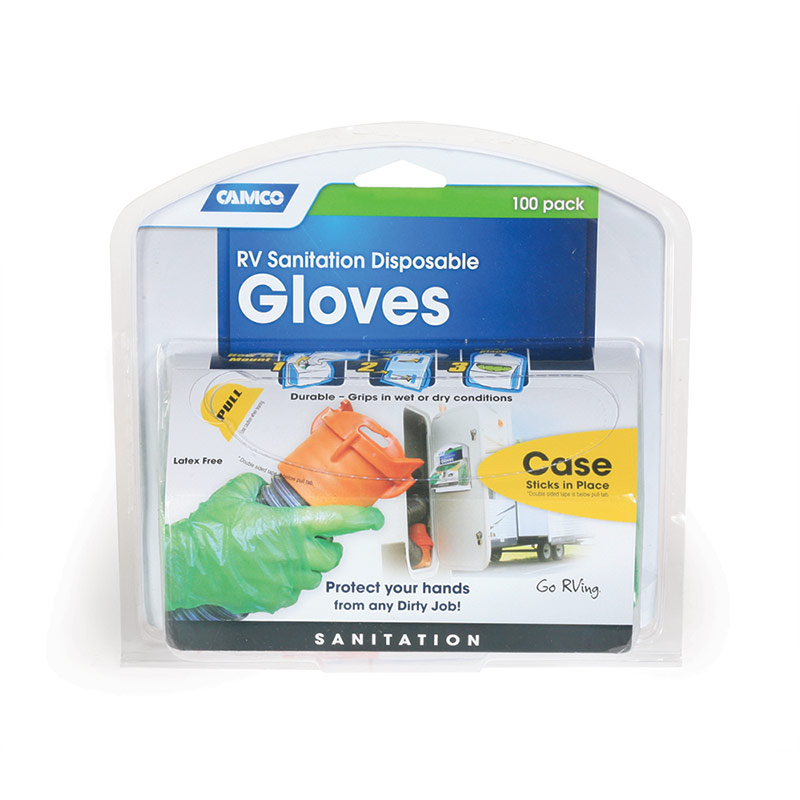RV Green Disposable Dump Glove - Gebo's
