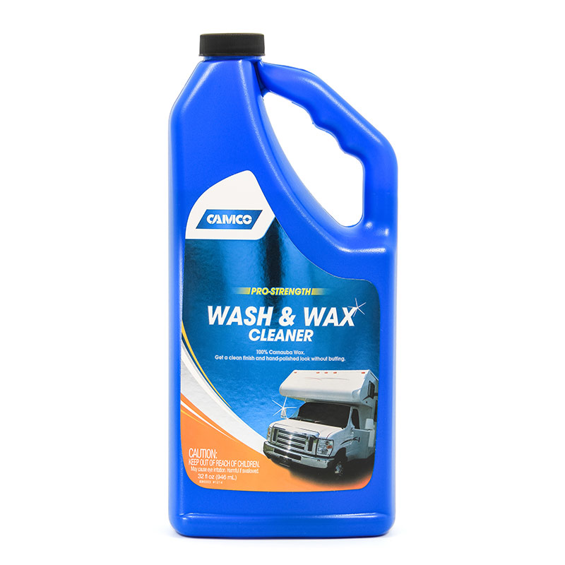 32 Oz. Wash & Wax Pro-Strength Cleaner - Gebo's