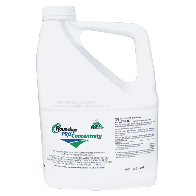 2.5 Gal. Roundup PRO Concentrate - Gebo's