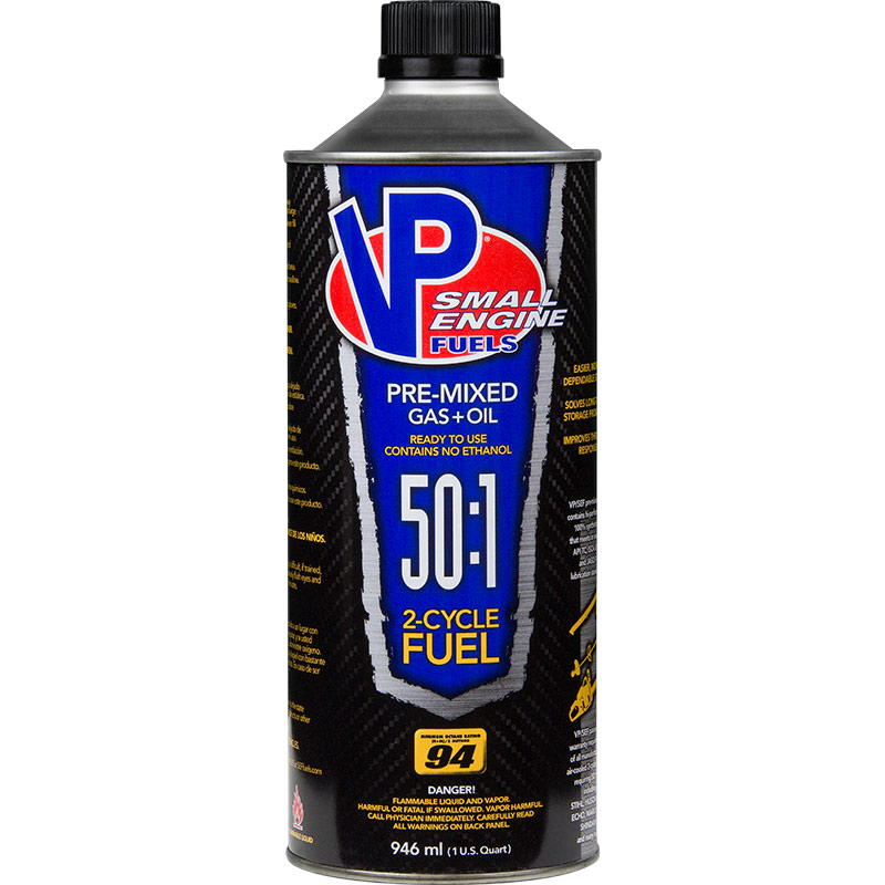 1 Qt. VP Small Engine Fuels 50:1 Pre-Mixed 2-Cycle Fuel - Gebo's