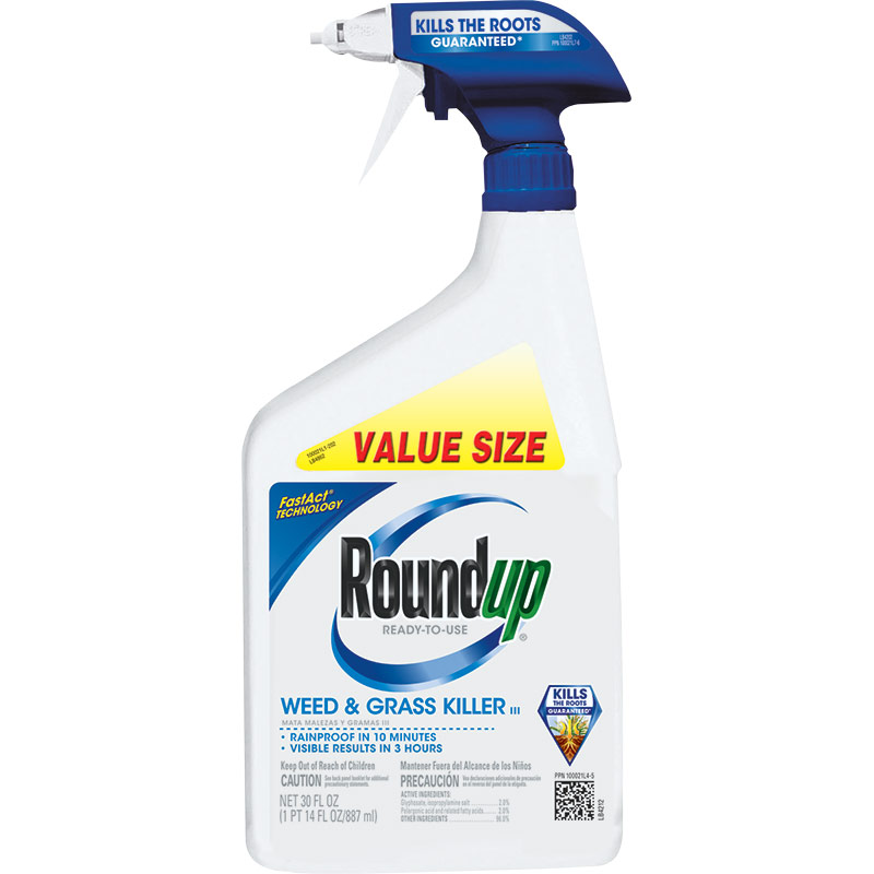 30 Oz. Scotts RoundUp Ready To Use Weed & Grass Killer - Gebo's