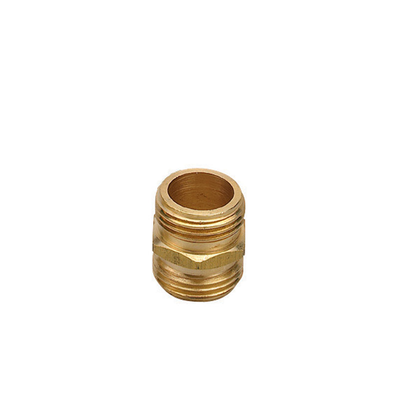 "3/4"" Orbit MHT Brass Hex Hose Nipple - Gebo's"