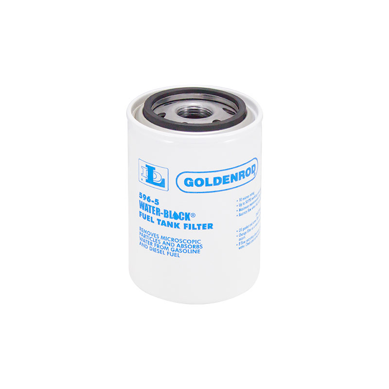 GoldenRod 596-5 Fuel Tank Filter Replacement Water-Block Canister - Gebo's