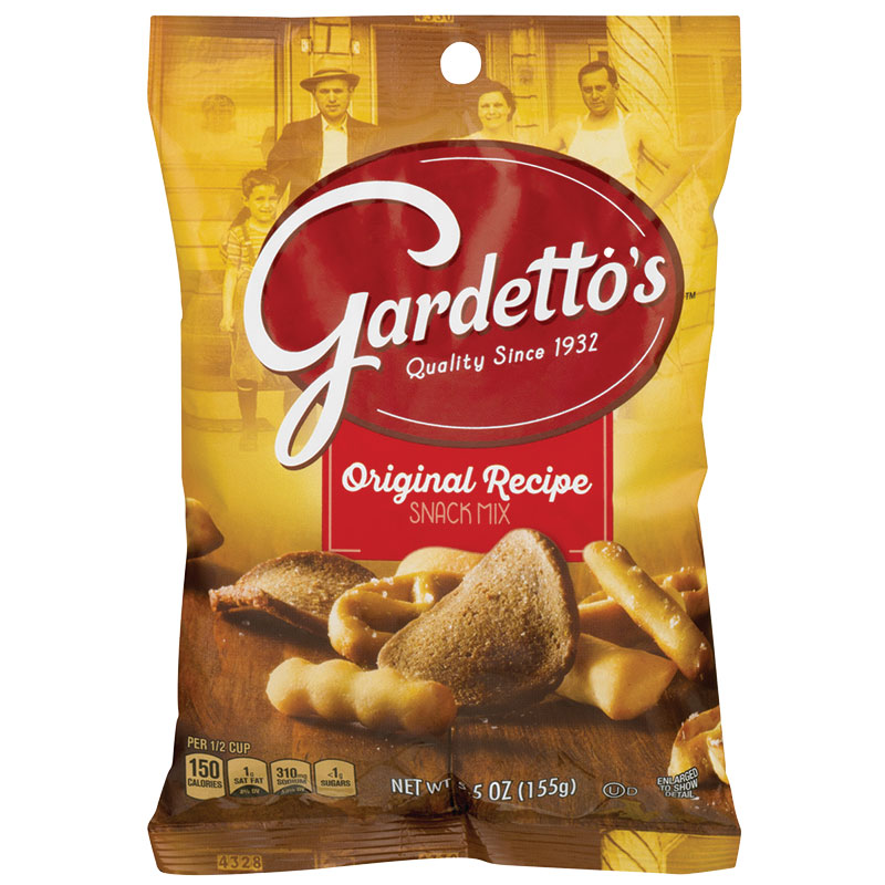 5 Oz. Original Recipe Gardettos - Gebo's