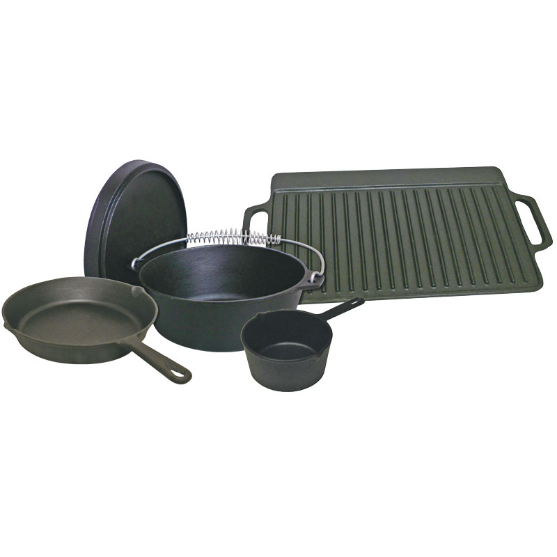 5 Pc. Cast Iron Gift Set - Gebo's