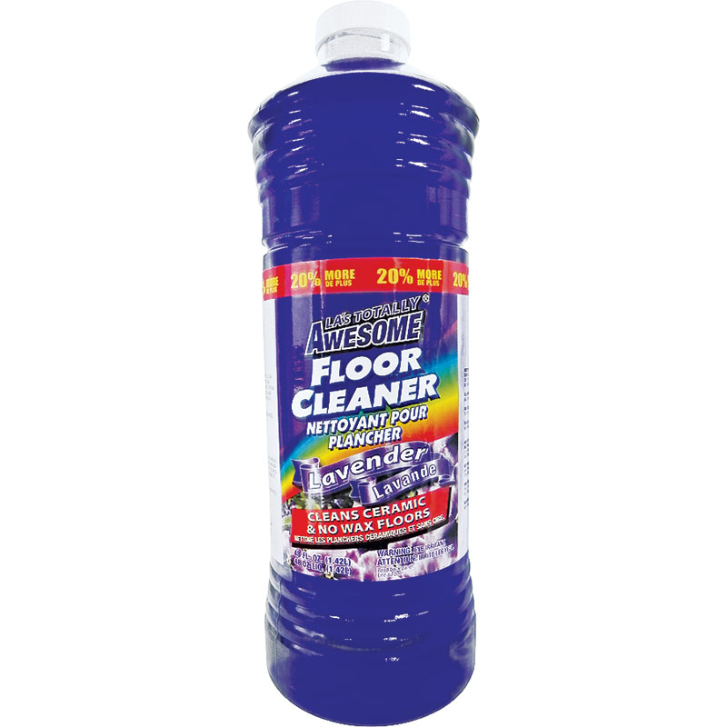 40 Oz. LA's Totally Awesome Floor Cleaner Lavender Scent - Gebo's