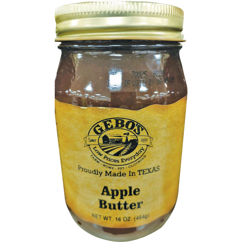 16 Oz. Gebo's Apple Butter - Gebo's