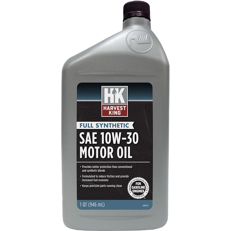 1 Qt. Harvest King SAE 10W-30 Motor Oil - Gebo's