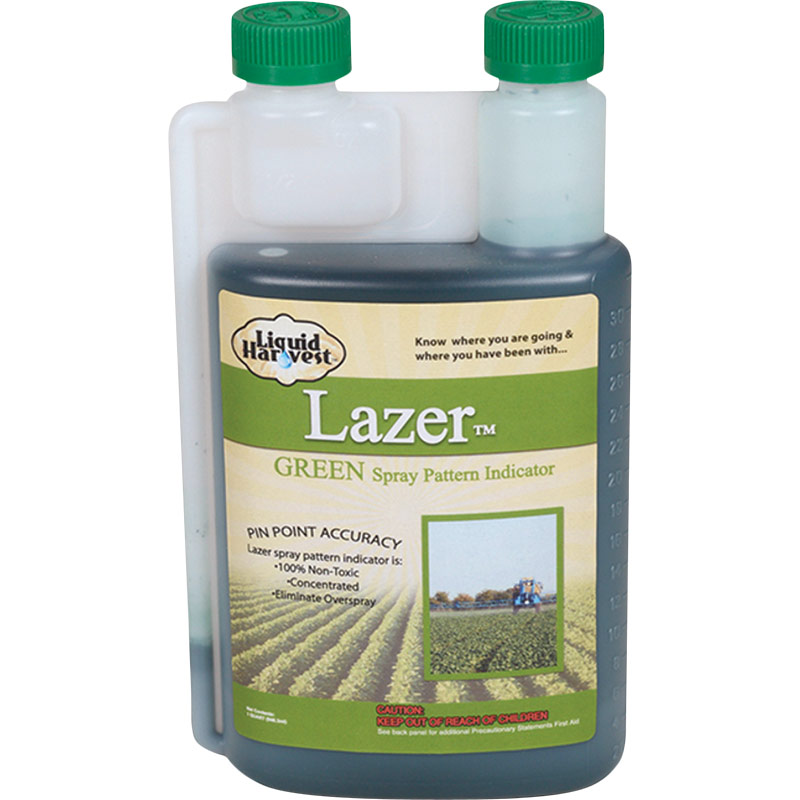 1 Qt. Lazer Green Spray Pattern Indicator - Gebo's