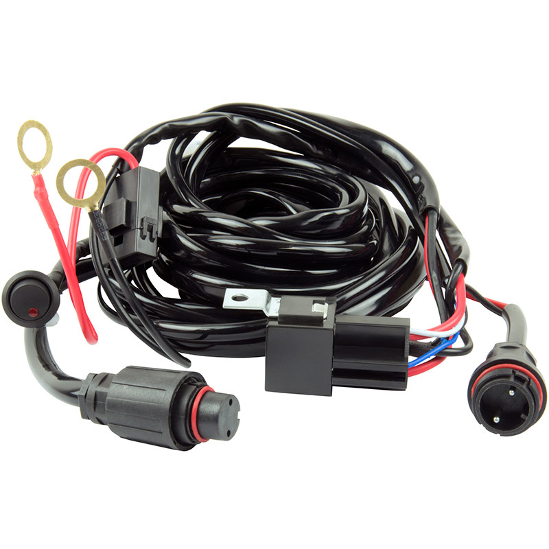 HD Wiring Harness with 2 Plugs - Gebo's