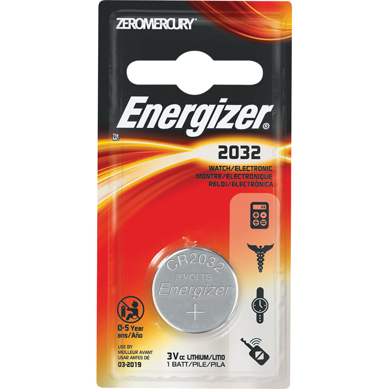 Energizer 2032 Lithium Coin Battery - Gebo's