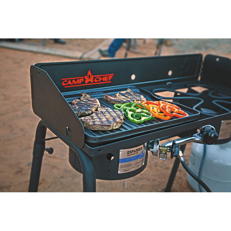 Camp Chef Explorer Two Burner Stove - Gebo's
