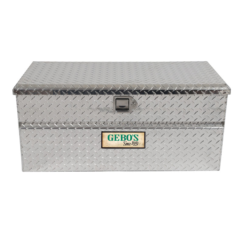 Brite Tread Aluminum Chest Tool Box - Gebo's