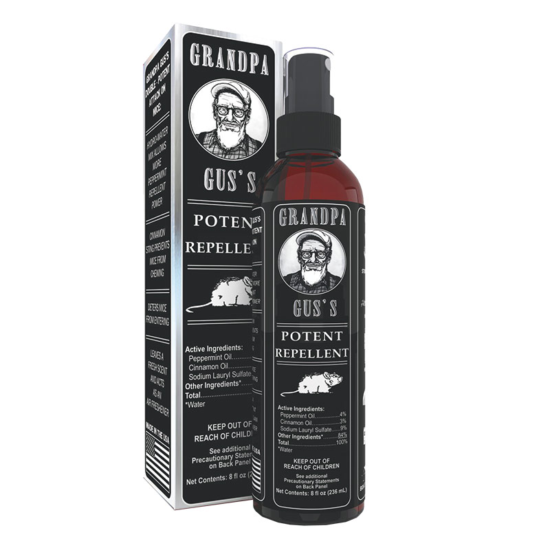 8 Fl. Oz. Grandpa Gus Mouse Spray - Gebo's