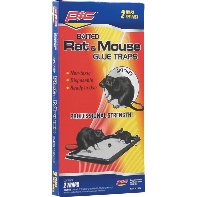 2 Pk. Rat & Mouse Glue Traps - Gebo's