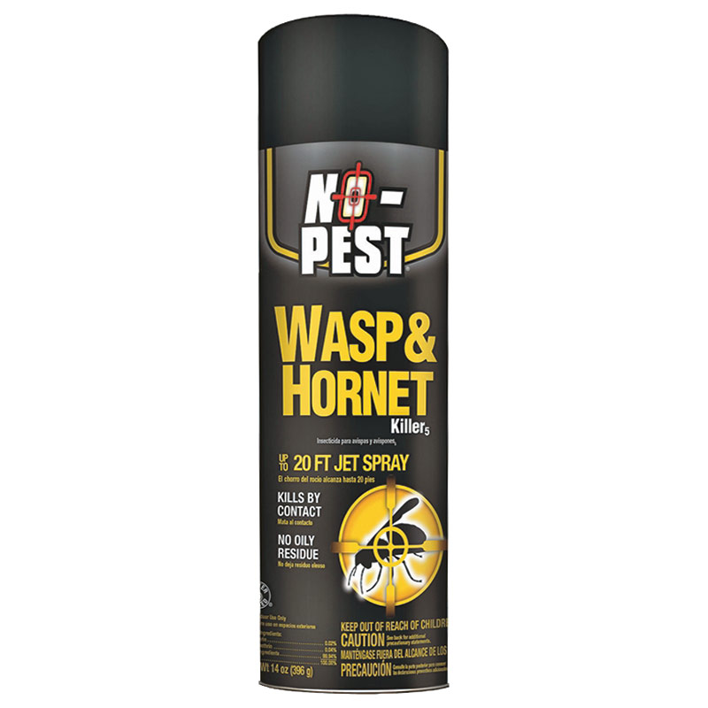 14 Oz. No-Pest Wasp & Hornet Spray - Gebo's