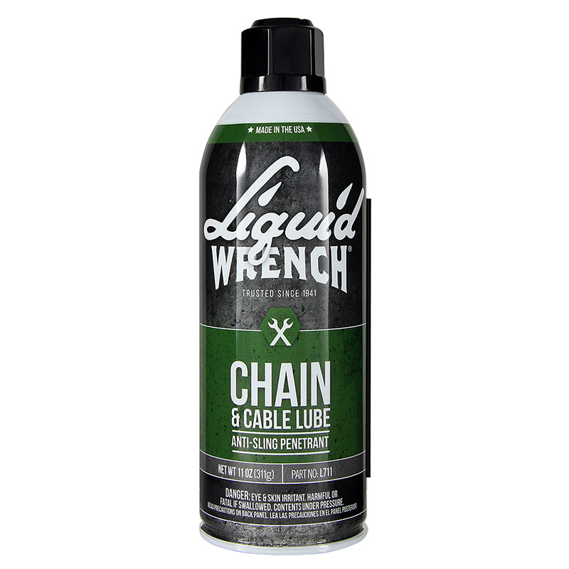 11 Oz. Liquid Wrench Chain & Cable Lube - Gebo's