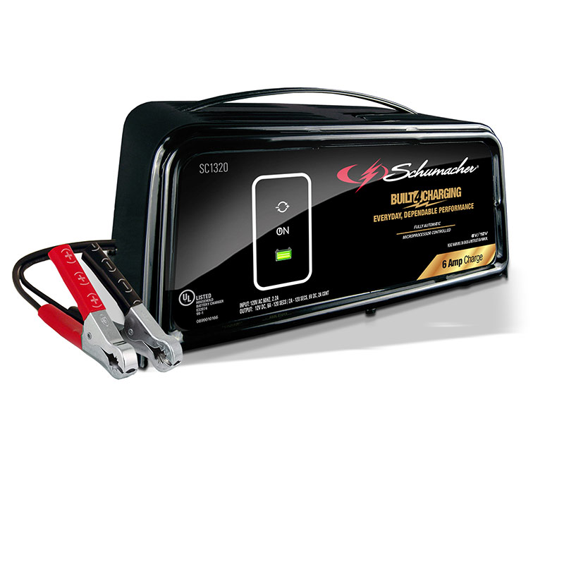 6 AMPS 6/12V Fully Automatic Battery Charger - Gebo's