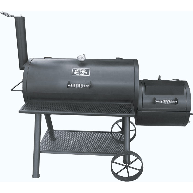 Outdoor Leisure Smoke Hollow Charcoal Grill/Smoker - Gebo's