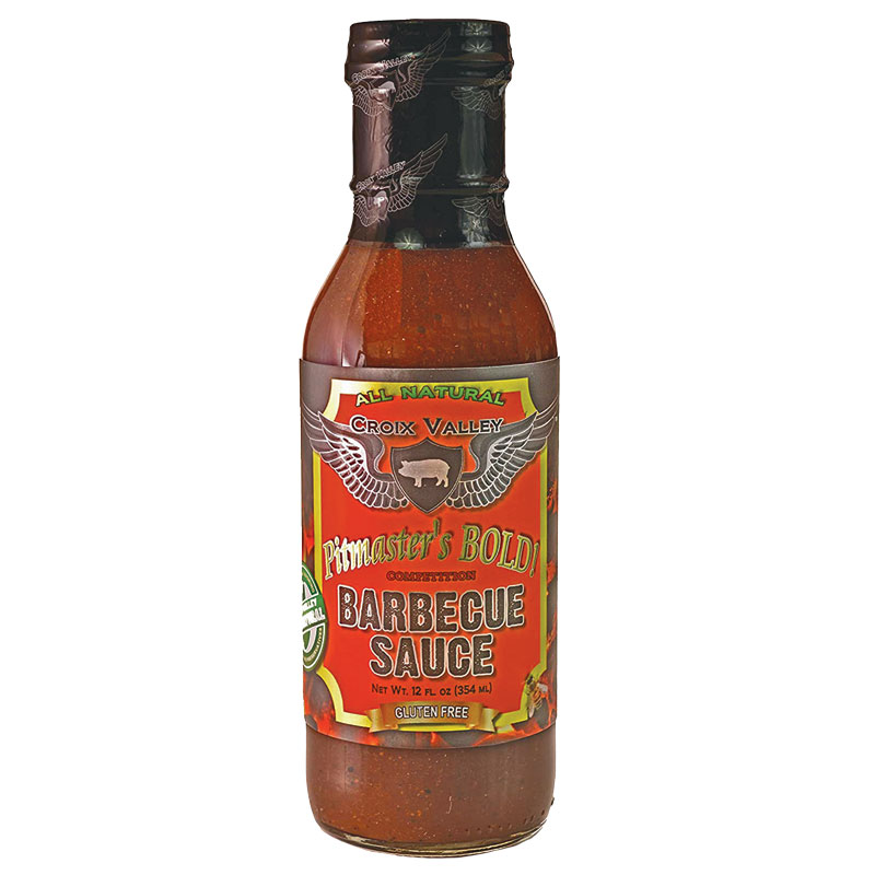 12 Oz. Croix Valley Pitmaster's Bold Barbecue Sauce - Gebo's